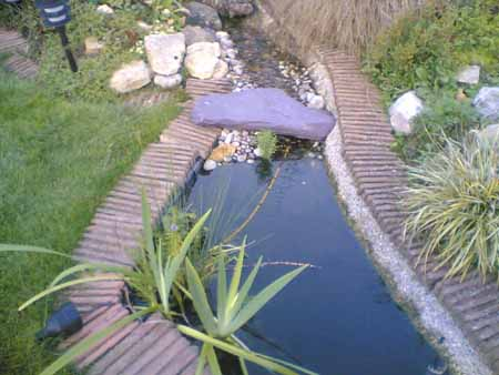 How To Build A Small Stream For Your Pond Using Garden