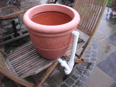 The pot holds about 12 gallons of water.