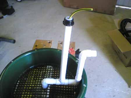 How to build a homemade diy venturi to aerate your pond for Homemade pond pump