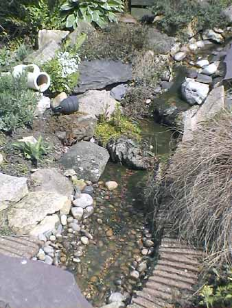 how to build a small stream for your pond using garden pond liner